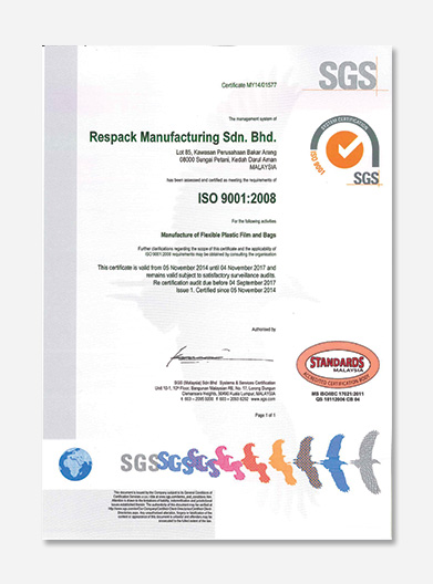 ISO Standards Malaysia