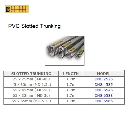 Pvc Slotted Trunking G S Electrical